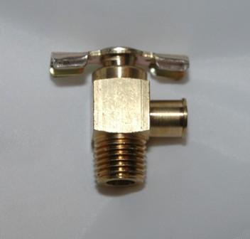 Angle Needle Valve Drain Cocks, Brass