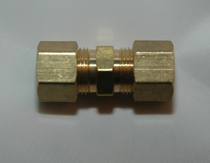 Tube Unions, Brass