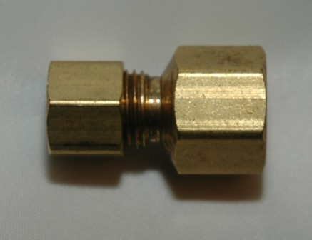 Female Pipe Connectors, Brass
