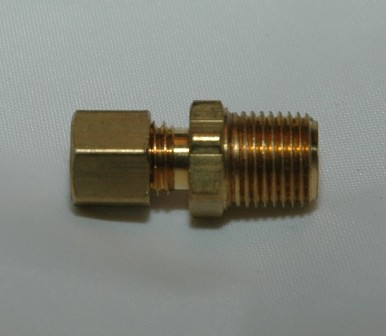 Male Pipe Connectors, Brass