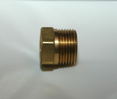 Inverted Flare Tube Nut, Brass