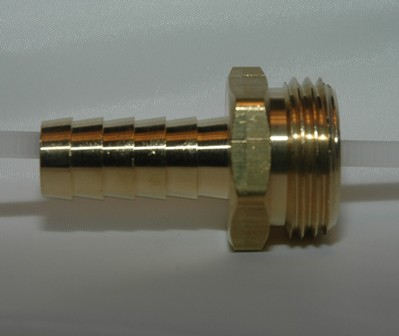 Male Garden Hose Ends, Brass
