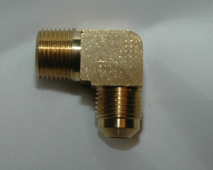 SAE Flare Tube Male NPT Connector Elbow 90