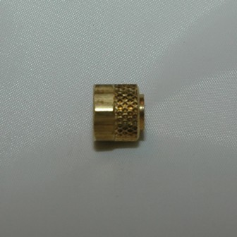 Brass Nut and Sleeve
