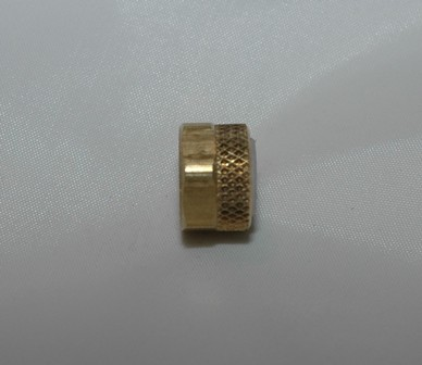 Brass Nut and Plastic Sleeve