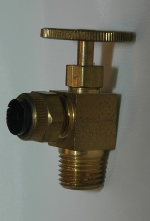 Angle Needle Valve  tube to Male Pipe