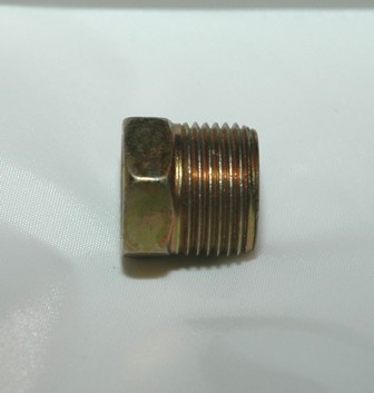 Inverted Flare Tube Nut, Steel