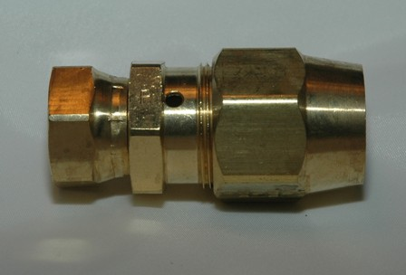 Brass Female Swivel Connector