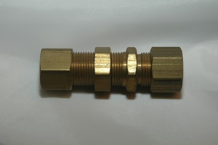 Copper Tube Compression Bulkhead Union