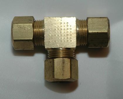 Copper Tube Compression Union Tee