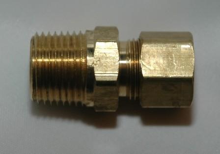 Copper Tube Compression Male Pipe Connector