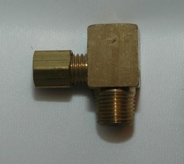 Copper Tube Compression Male x Female Pipe Run Tee