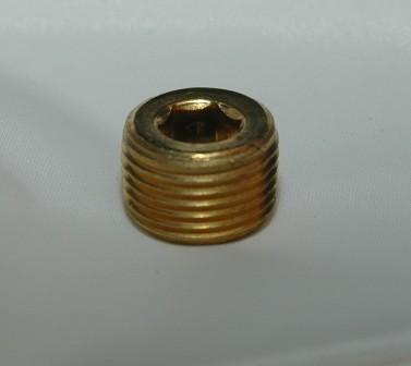 Countersunk Hex Pipe Plug