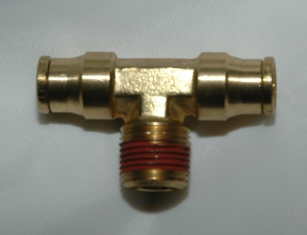 D.O.T. Approved brass push to connect