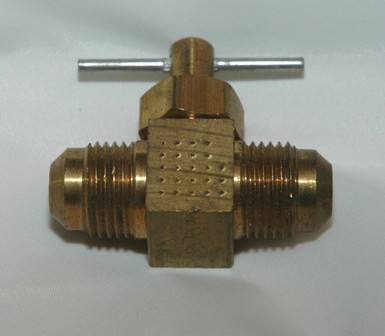 Straightway Needle Valve with Male Flare x Male Flare