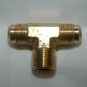 SAE Flare Tube Male NPT Branch Tee