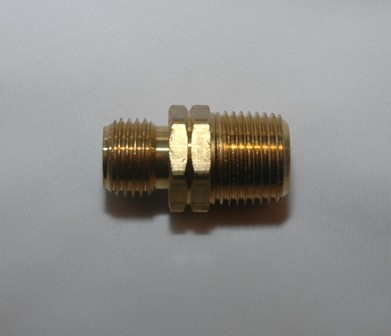 M R/H Oxygen Thread Union - (Brass)