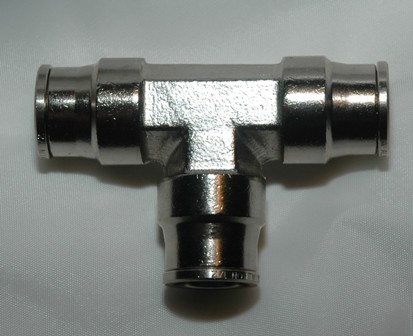 Nickel Plated Brass push to Connect