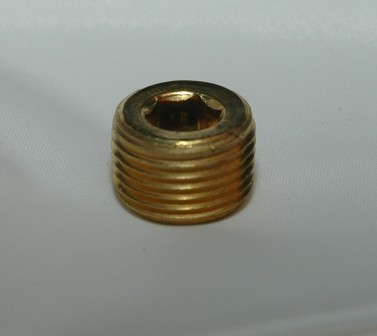 Countersunk Hex Pipe Plug