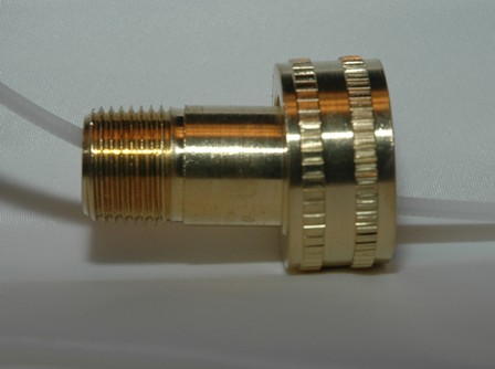 Female Garden Hose to Male Pipe - Swivel
