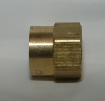 Female Garden Hose with Female Pipe Thread - Solid