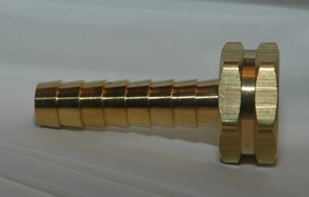 Female Garden Hose Long Shank - Brass