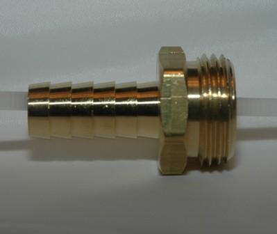 Male Garden Hose Shank - Brass
