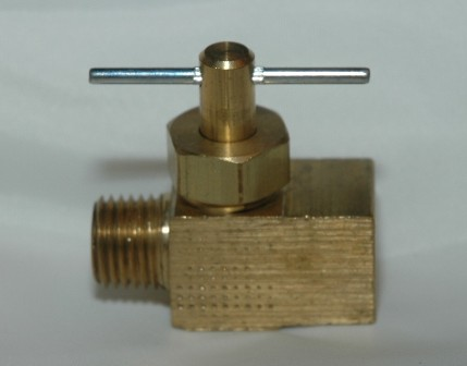 Straightway Needle Valve with Male Pipe x Female Pipe