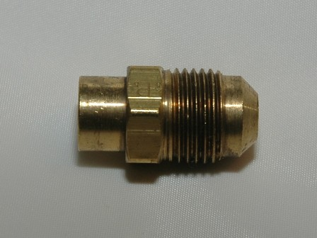Male SAE Flare Tube Solder Connector