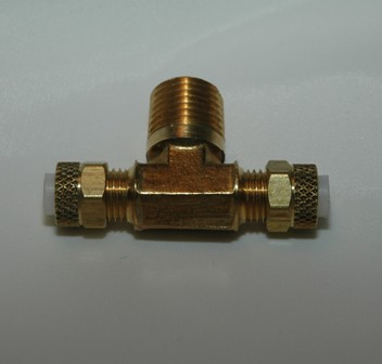 Brass Poly flow fitting