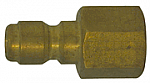 Brass Straight Thru Plug