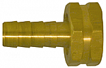 Female Garden Hose Shank - Straight Thread Pipe - Brass