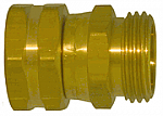 Male by Female Garden Hose Adapter (Swivel)