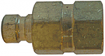 Brass mold coupler plug