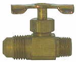 Straightway Needle Valve with Male Flare x Male Pipe