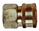 Brass high flow Coupling