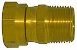 Female Pipe Straight Thread to Male Pipe - Live Swivel