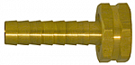 Female Garden Hose Long Shank - Straight Thread Pipe - Brass