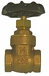 Gate Valve - Brass