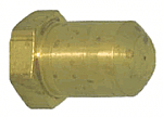 Brass Pol Plug Drill Through