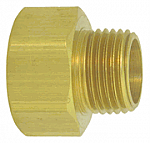 Female Garden Hose with Male Pipe Thread - Solid