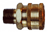 Brass High Flow Coupler
